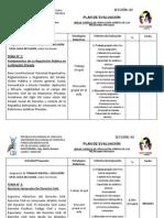 PLAN DE EVALUACIÓN DE REGULACIÓN JURÍDICA DE LAS RELACIONES PRIVADAS (UBV) SECCIÓN O2  4TO SEMESTRE