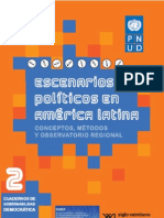 Escenarios políticos en América Latina