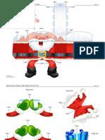 Caixa Papai Noel