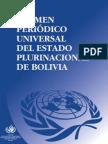 Examen periódico universal del Estado Plurinacional de Bolivia (2010)