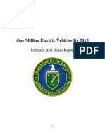 DOE Report on Electric Vehicles