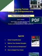 Focusing Tunisia Energy on Entrepreneurship 10928