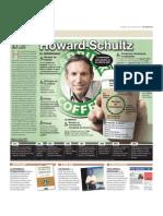 Howard Schutltz el maestro del café