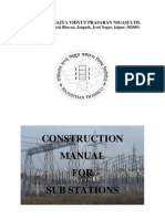 Construction Manual for Sub-Stations