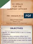 101 Officer Drills