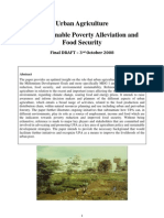 Urban Agriculture for Sustainable Poverty Alleviation and Food Security