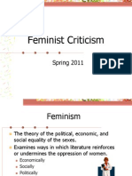 Feminist Theory Spring 2011