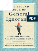 The Second Book of General Ignorance by John Lloyd and John Mitchinson - Excerpt 1