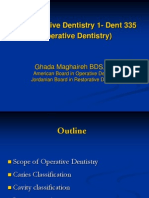 Lecture 1, Operative Dentistry (Slides)