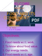 Food and Its Components