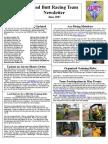 Lead Butt Newsletter June 2007
