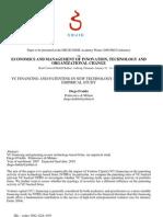 VC e patentes