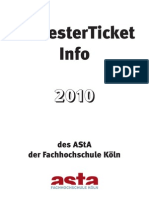 2010 - Semester Ticket Web