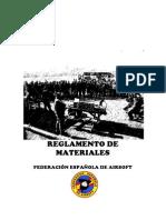 Reglamento de materiales 2011