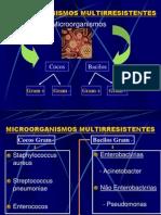 MICROORGANISMOS MULTIRRESISTENTES