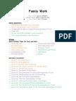 2011-2012 Master Checklist- Family Work
