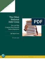 Wayne Crews - The Other National Debt Crisis