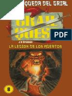 Juego La Busqueda Del Grial 08 - La Legión de Los Muertos