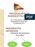 Instantánea Pancreatitis