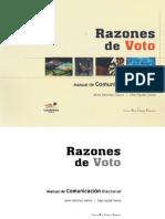 Razones de Voto - Por Javier Sanchez-Galicia y Elias Aguilar Garcia