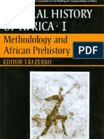 General History of Africa Vol 1