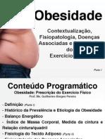 Parte I - Obesidade Contextualização