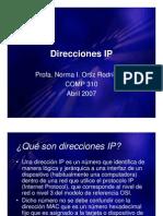 Direcciones Ipv4 e Ipv6 21135