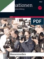 Information En Zur Politischen Bildung Heft 309 - Massenmedien