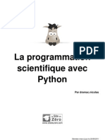 547399 La Program Mat Ion Scientifique Avec Python