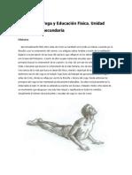 Yoga y Educación Física