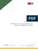 2010-05-31 Propuesta Taller Ahorro FOSIS SERNAC