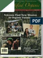 Veterans Find New Mission in Organic Farming