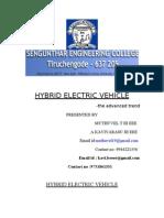 Hybrid Vehicle1