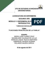 Ciencias Sociales. Funciones de La Familia