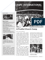 2011 Fall Newsletter