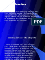 IV. Coaching