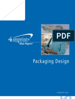Packaging Design Blue Paper