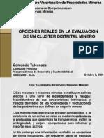 Opciones Reales Cluster Distrital - Edmundo Tulcanaza