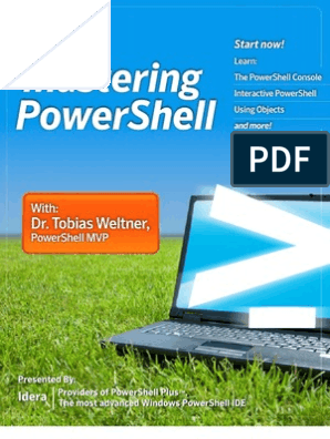 Mastering Power Shell | Command Line Interface | Typefaces