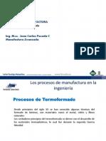 Los Procesos de Manufactura -Termoformado