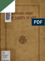 Bernard Shaw - The Sanity of Art