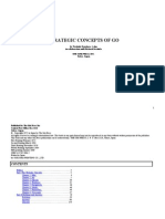[Go Igo Baduk Weiqi] Strategic Concepts of Go