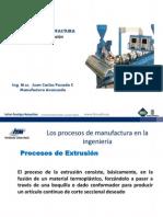 Los Procesos de Manufactura -Extrusion