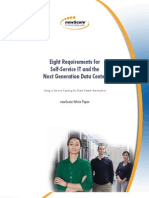 Eight Requirements for Self-Service IT and the Next Generation Data Center