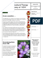 December 2008 Horticultural Therapy Society of New South Wales Newsletter