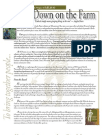 Fall 2010 Homeless Garden Project Newsletter