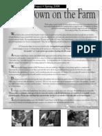 Spring 2008 Homeless Garden Project Newsletter