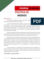 Política de medios - Ricardo Alfonsín 2011