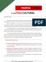 Politica Cultural - Ricardo Alfonsín 2011