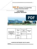 Computer Networks Lab Manual Latest